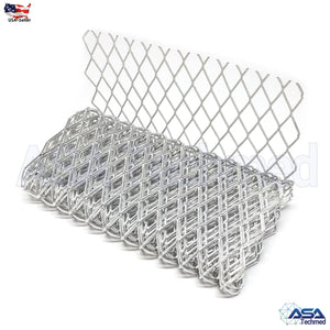 "5 pcs High Quality Pliable Rolled Wire Mesh Metal Splint 3.45"" X 26"" Medical"