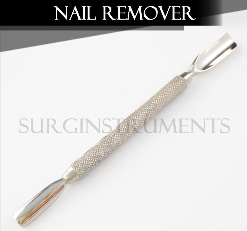 3 Pieces Nail Remover - Double Ended Stainless Steel Manicure Salon AE-1286