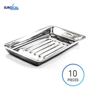 10 Scaler Trays Curettes, Explorers, Mirrors Probes, Surgical Dental Instruments