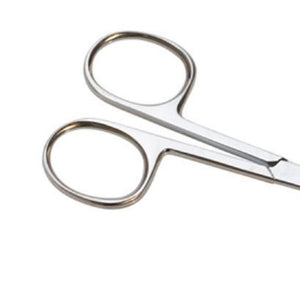 "12 pcs Cuticle Scissors ManiCure Pedicure Nail Sewing Embroidery 3.5"" Curved"