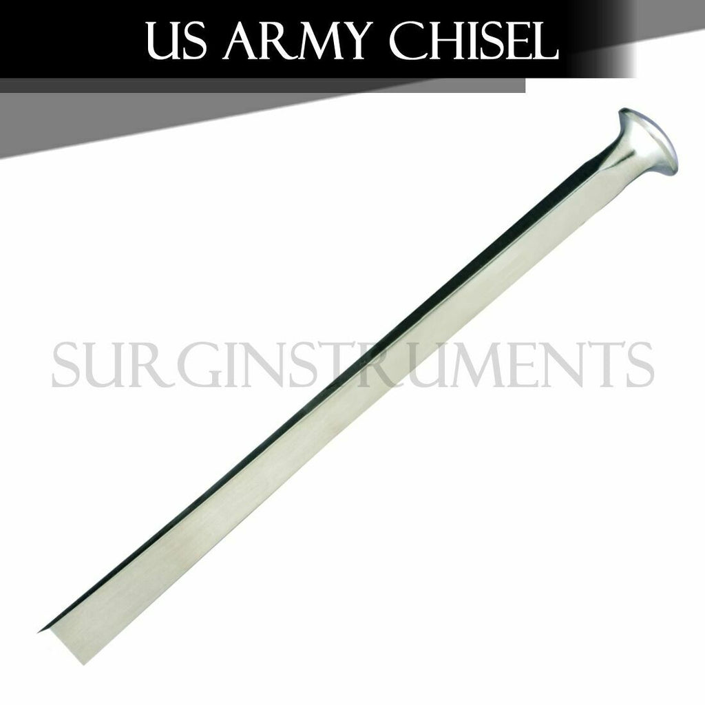 US Army Pattern Chisel Orthopedic Surgical Veterinary 6mm