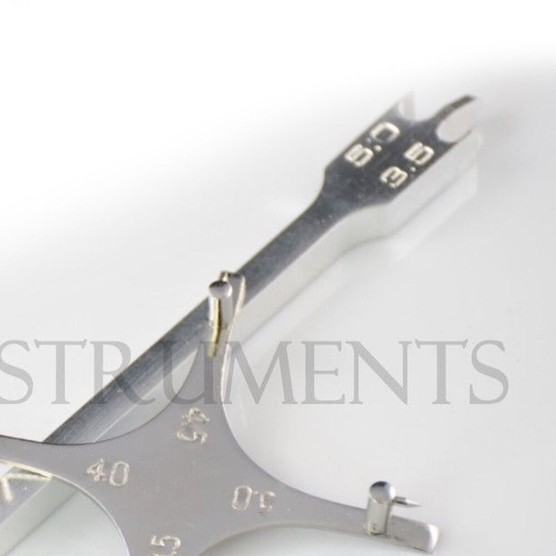 Bracket Positioning Star Boone & Height Gauge Wick Type Orthodontic Dental CE