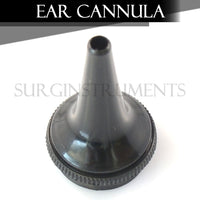 10 Pieces Replacement Ear Cannula for Otoscope Ophthalmoscope ENT Medical