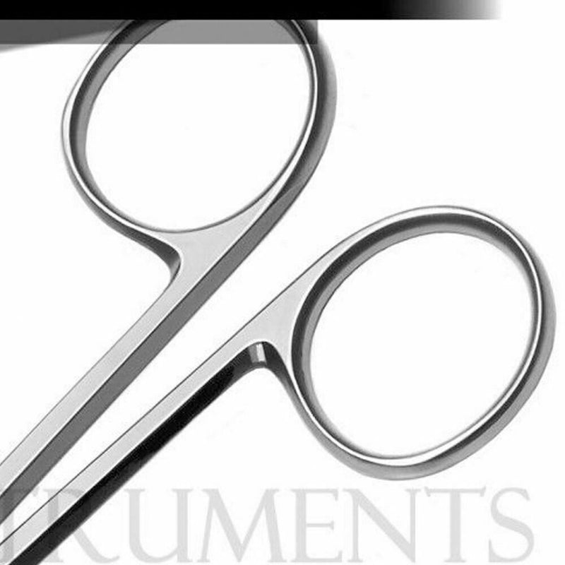 2 Stevens Tenotomy Scissors - 1 Straight 1 Curved - Surgical Dental Instruments