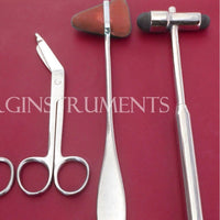 4 PCS DIAGNOSTIC INSTRUMENT SETS Chiropractic Physical