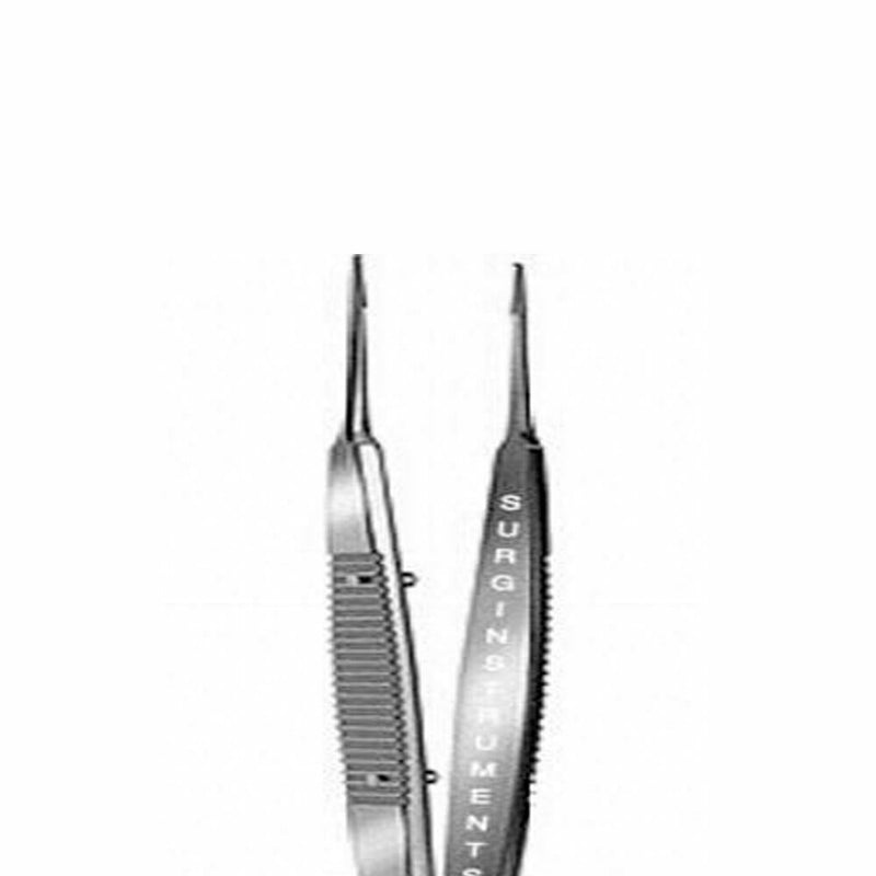 "Castroviejo Suturing Forcep 4"" 0.9 mm 1x2 teeth Dermal Surgical Instrument"