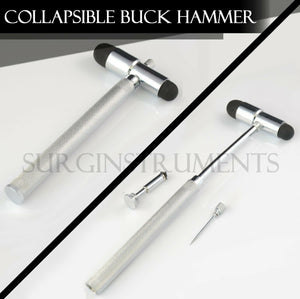 3 In 1 Collapsible Buck Hammer Diagnostic Set EMT Surgical EMS Supply