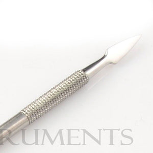 3 Pieces Nail Pusher - Double Ended Stainless Steel Manicure Salon AE-1335