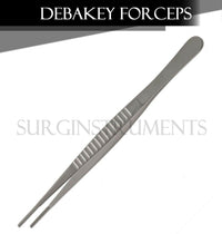 "3 Debakey Atraumatic Artery Forceps Clamp 10"" ENT Surgical Instruments"