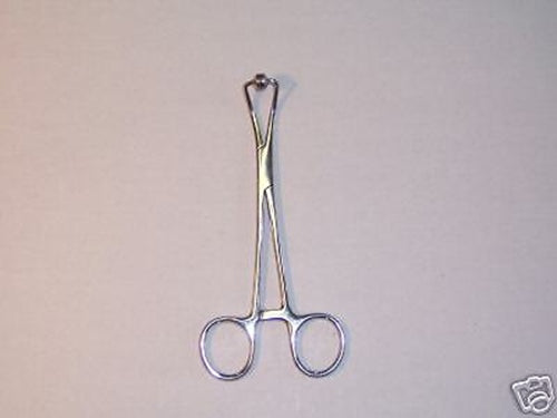 Cup & Bowel Towel Clamp Forceps Surgical Ob/Gynecology 5.5""
