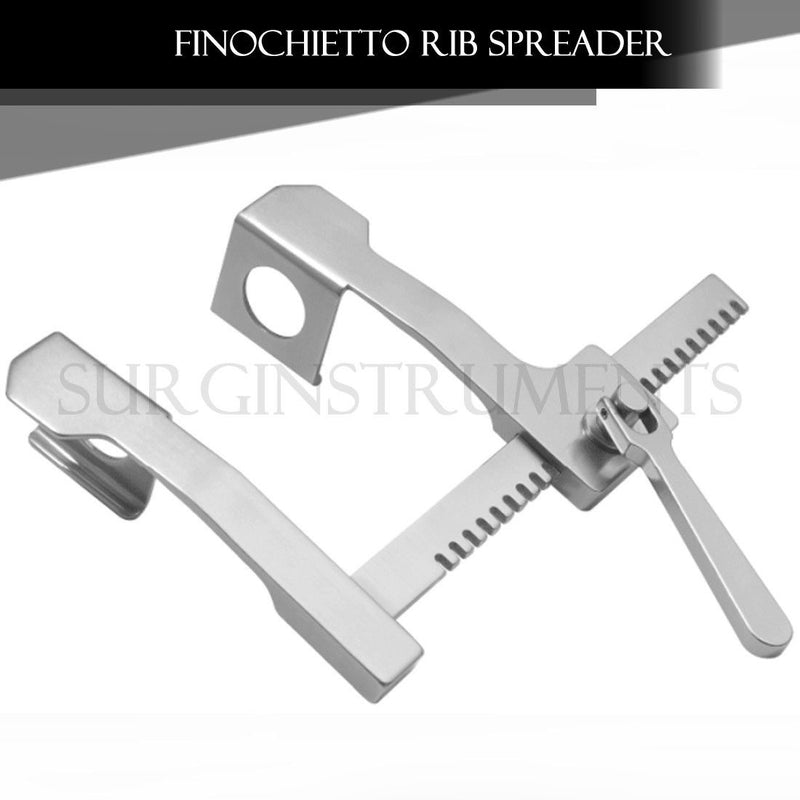 "Burford-Finochietto Rib Spreader Retractor 10"" Spread"