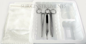 Toenail Removal Tray Sterile Disposable - Surgical Medical Podiatry Instruments