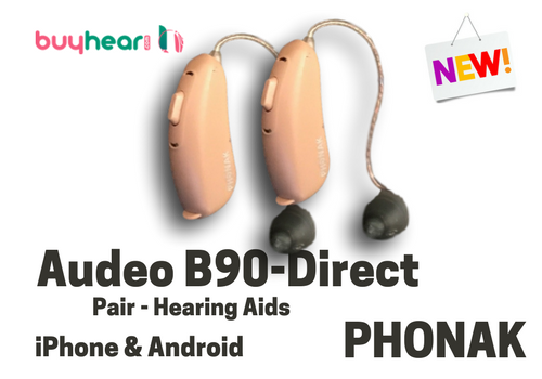 Pair - Audeo B90-Direct (iPhone & Android)