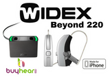 Pair - Widex Beyond Zpower 220 (iPhone direct) With Charging Station