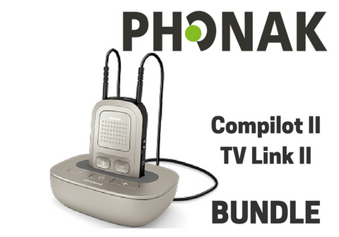 Bundle | Compilot II & TVLink II (with purchase of hearing aids)