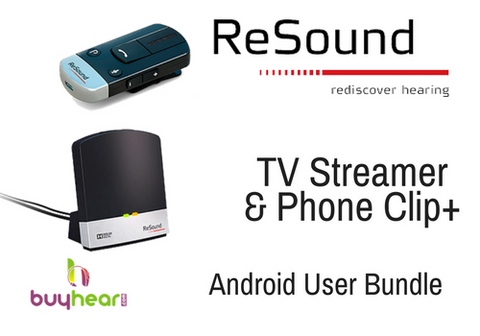 RESOUND BUNDLE - TV Streamer & Phone Clip+
