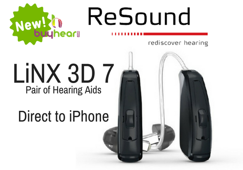 Pair - ReSound LiNX 3D 7 (direct to iPhone)