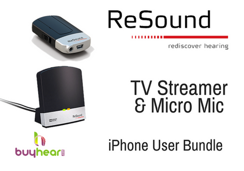 RESOUND BUNDLE - TV Streamer & Micro Mic