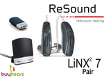 Pair - LiNX2 7 w/ TV Streamer & Mini Microphone (iPhone users)
