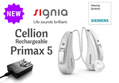 Pair - Cellion Primax 5 (w/ rechargeable station)