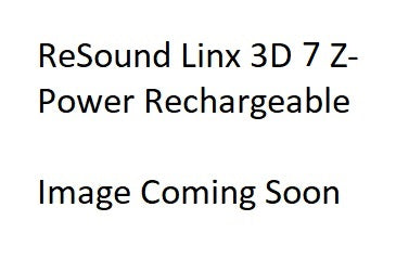 Pair - ReSound LiNX 3D 7 Z-Power Rechargeable