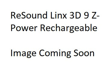 Pair - ReSound LiNX 3D 9 Z-Power Rechargeable