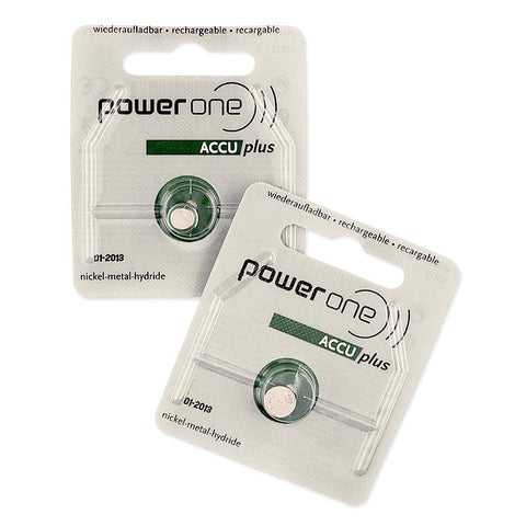 Rechargable Hearing Aid Batteries - 1 Pair