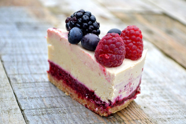Lemon and Berry Nocheesecake