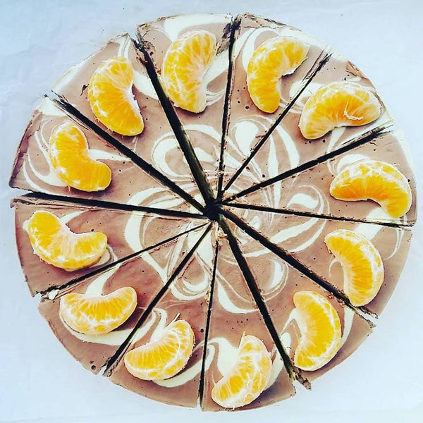 Chocolate & Orange marble cake