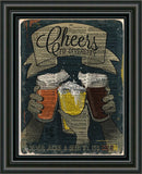 Beer art, bar artwork, bar decor Beer diversity, beer lover art -  - 2