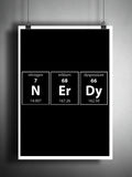 Periodic table wall art, Science art, Nerdy art, geeky art print, Periodic table print