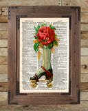 French advertising, roller derby art, vintage rollerskates art -  - 2