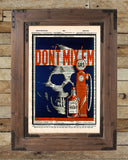 WPA depression era art print, Dont mix em,1930s wall art, dictionary page art print -  - 2