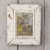 Vintage Flower Fairy art, Black medick Fair, Fairy art print, Dictionary print art -  - 2