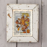 Vintage Flower Fairy art, Beech Nut Fairy, Autumn art print, Dictionary print art -  - 2