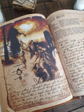 Myths Monsters and Cryptids Leather monster hunters journal
