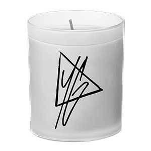 YG Triangle Logo Candle