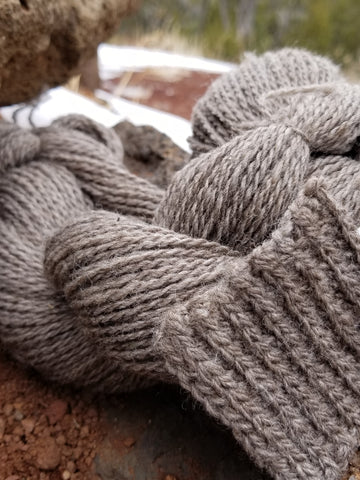 """Late Winter, Early Spring"" 2-Ply Sport Yarn. BFL & Corriedale"