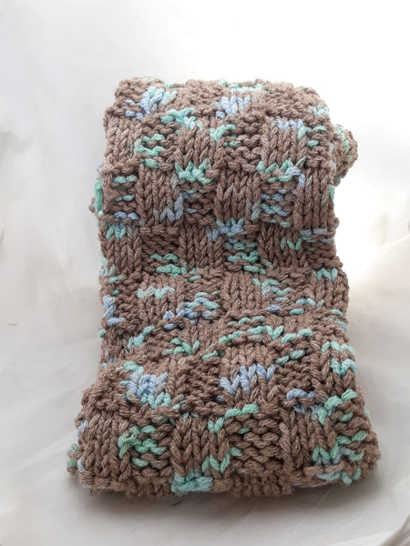 Knitted Cotton Scarf