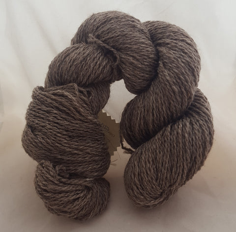 3 ply worsted BFL corriedale alpaca