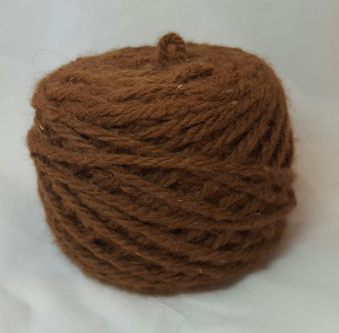 Brown, 3-ply bulky