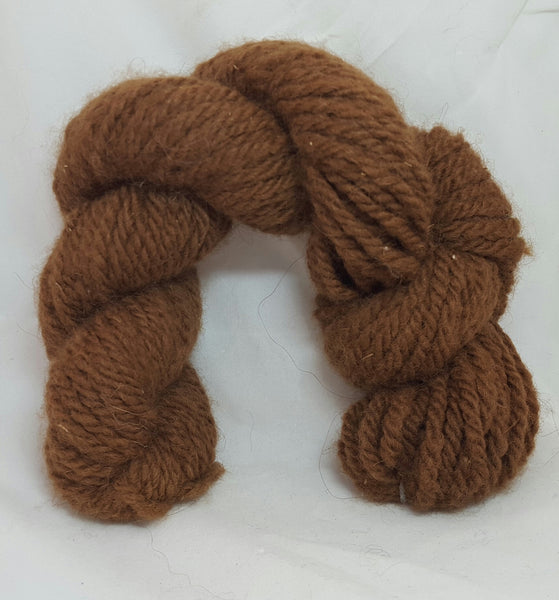 Brown 3-ply bulky