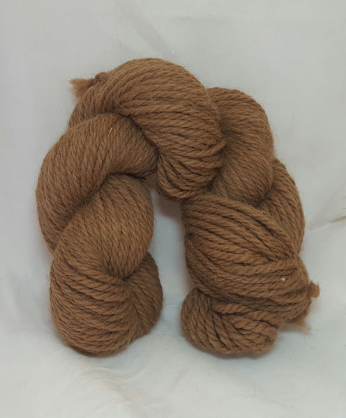 Brown 3 ply Worsted