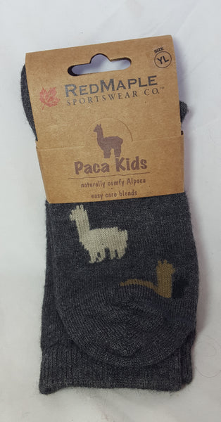 Sock - Youth Large Graphite