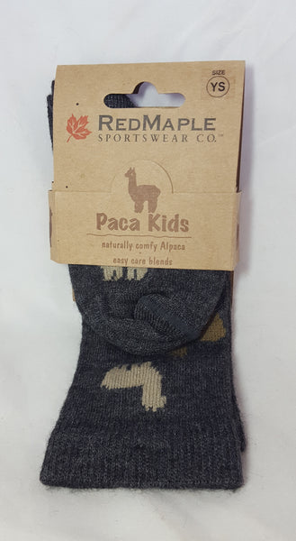 Sock - Youth Small Graphite