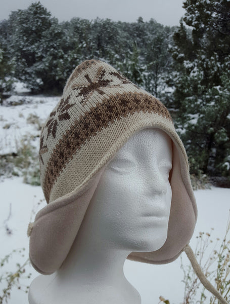 Ear Flap Hat (Tan)