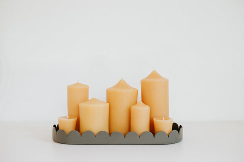 Beeswax Candle Family