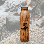 Wood Grain 20 oz bottle - Colter Coffee Roasting
