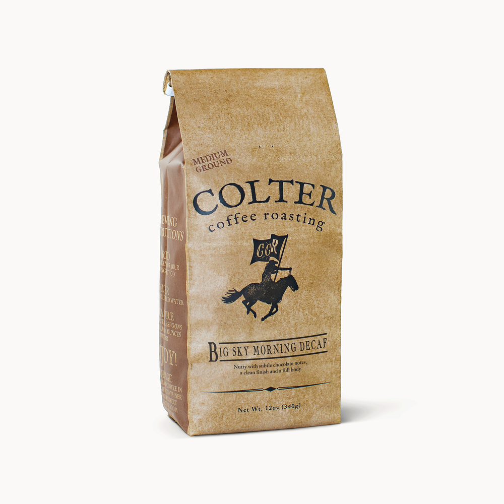 Big Sky Morning Decaf - Colter Coffee Roasting