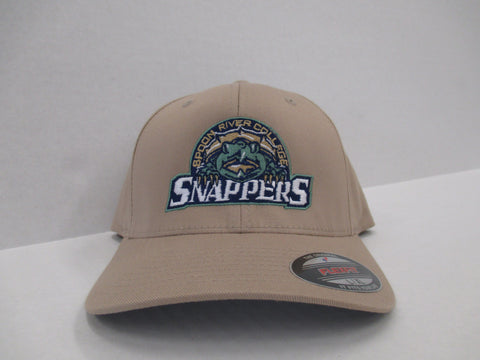 tan hat with snapper logo